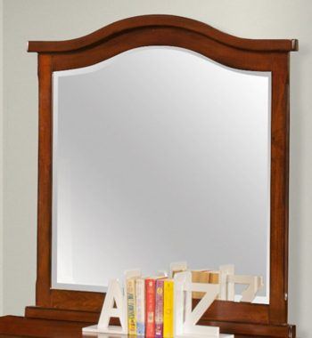 Seaside Youth Bedroom Mirror - Tobacco