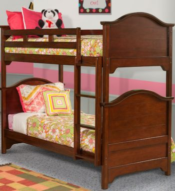 Seaside Youth Bedroom Set w/ Bunk Bed - Tobacco