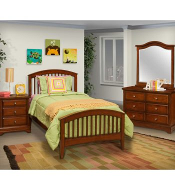 Seaside Youth Bedroom Set - Tobacco