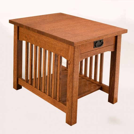 Mission End Table