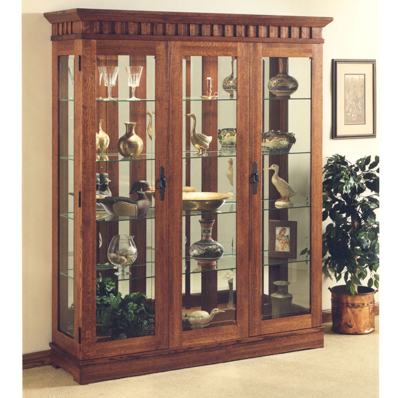 Mission Curio Cabinet Barr S Furniture The Best Online