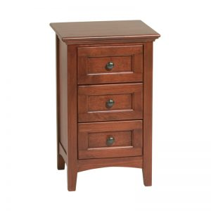 Mckenzie Small 3 Drawer Nightstand