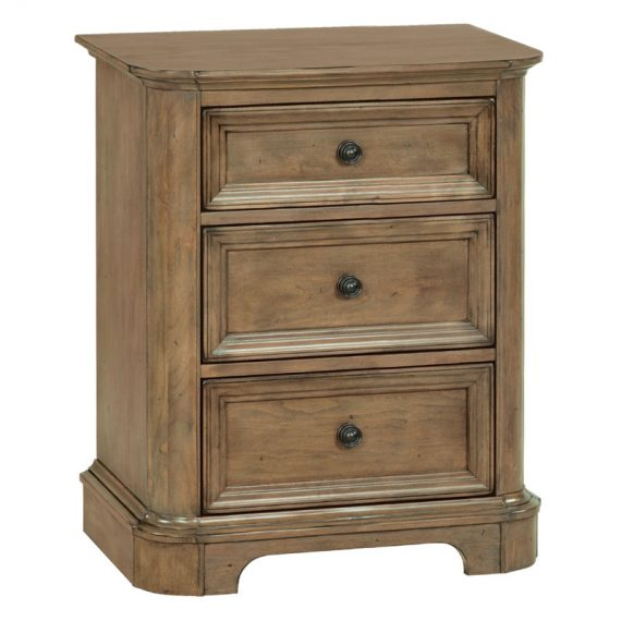 Stonewood 3 Drawer Nightstand
