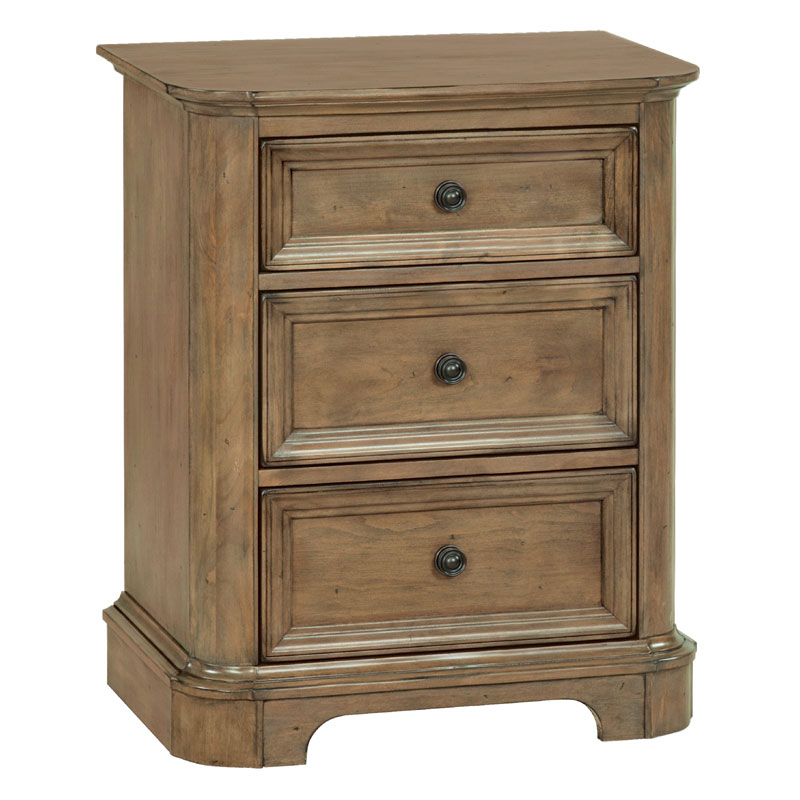 Stonewood Drawer Nightstand Whittier Wood Barr