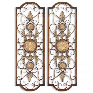 Micayla Panels Metal Wall Art