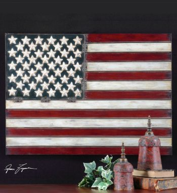 American Flag Wall Decor