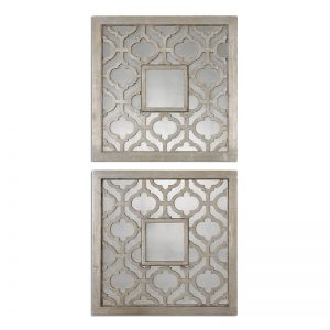 Sorbolo Squares Antiqued Mirrors