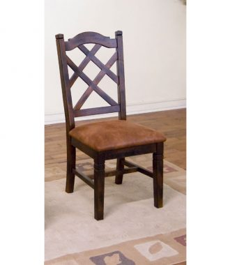 Santa Fe Double Cross Back Chairs - Set of 2