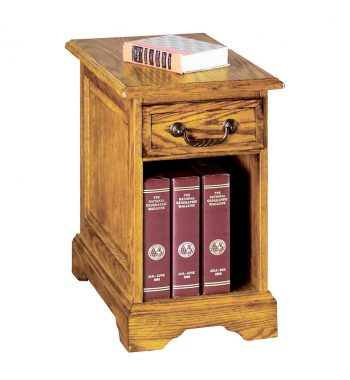 Heritage Light Oak 1 Drawer End Table
