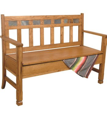 Sedona Bench with Storage