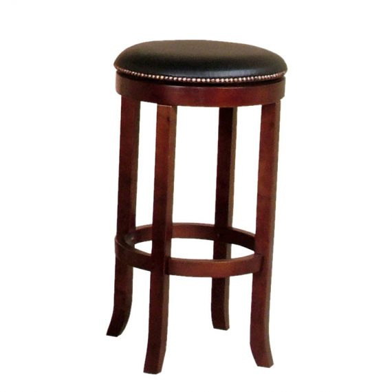 Cappuccino Swivel Bar Stools - Set of 2