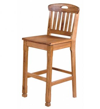 Sedona Slat Back Bar Stools - Set of 2