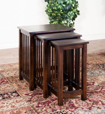 Santa Fe 3 Piece Nesting Tables