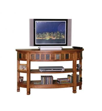 Sedona Curved Entry Table / TV Console