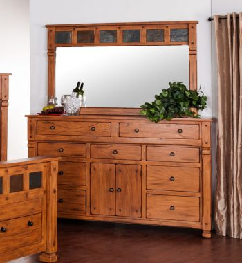 Sedona Dresser and Mirror