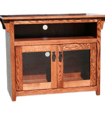 Mission Oak 38 Inch TV Console