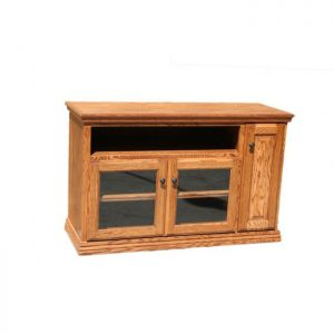 Traditional Oak 48 Inch Wide TV Console