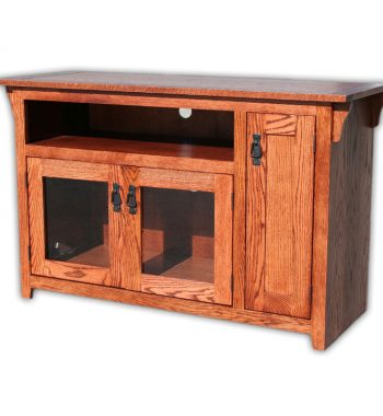 Mission Oak 48 Inch TV Console