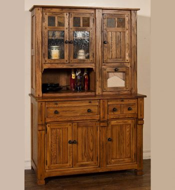 Sedona Buffet Hutch Set