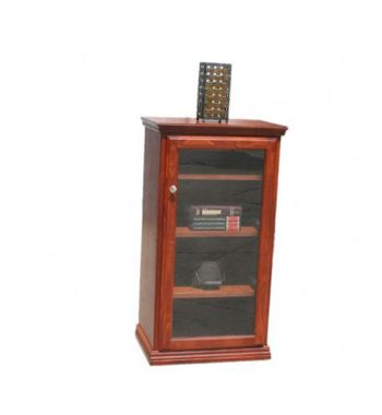 Traditional Oak Stereo Cabinet