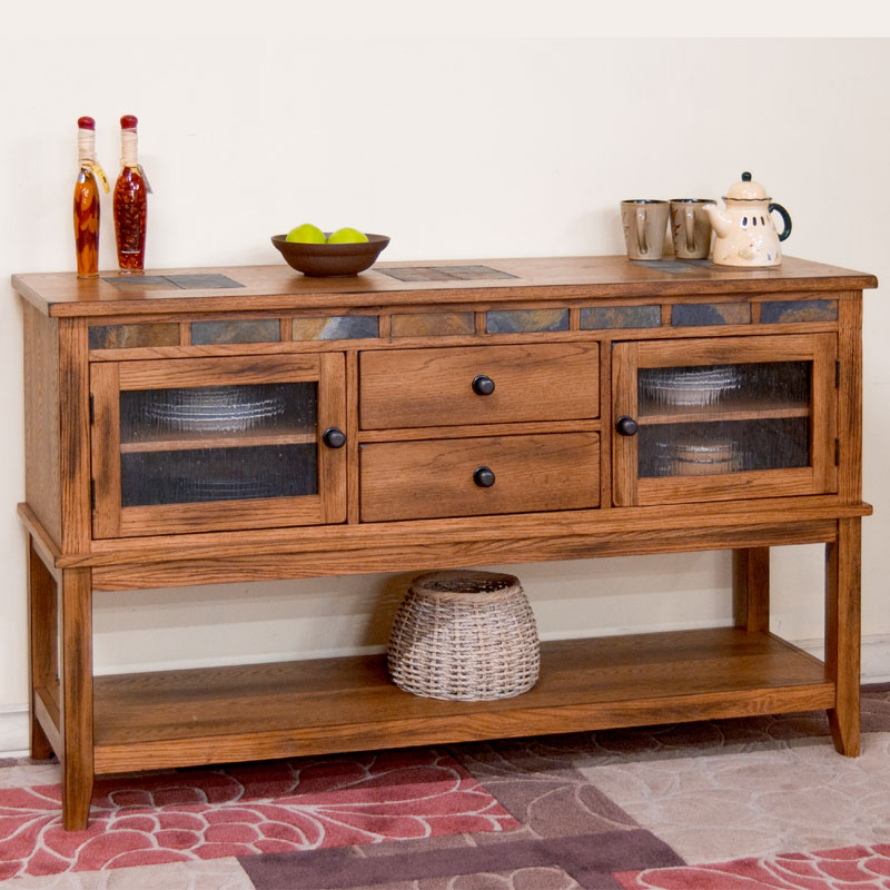 Sedona Server With 2 Drawers Barr S Furniture The Best