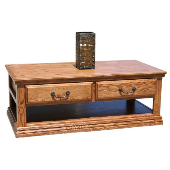 Traditional Oak Coffee Table