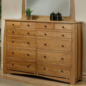 Solid Cherry 12 Drawer Dresser