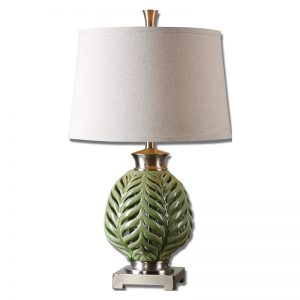 Flowering Fern Table Lamp