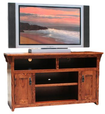 Mission Oak 54 Inch TV Console