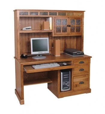 Sedona 58 Inch Computer Desk and Hutch