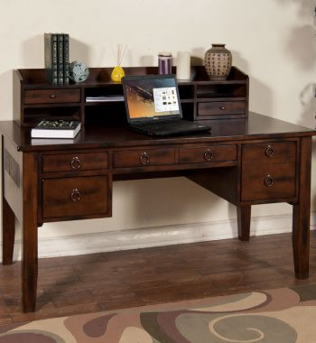 Santa Fe Writing Desk and Hutch