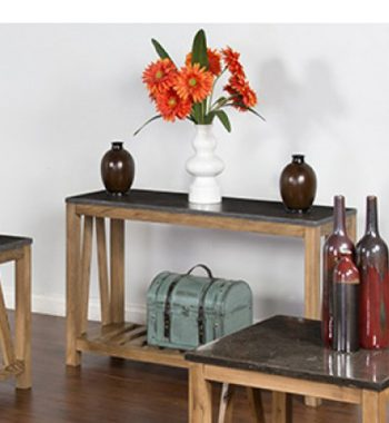 Blue Moon Stone Sofa Console Table