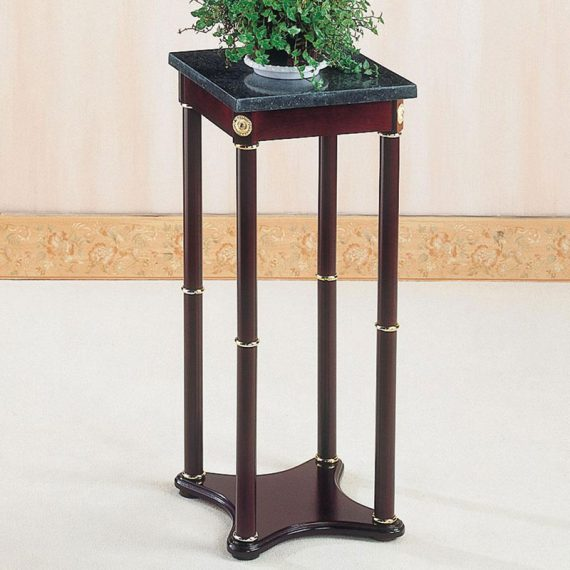 Green Marble Accent Table