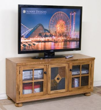 Sedona TV Console with Combo Drawer