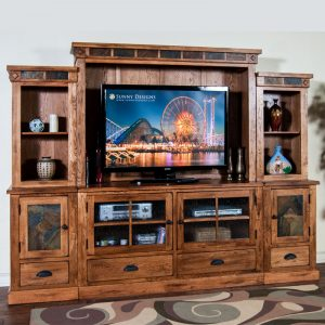 Sedona Entertainment Wall