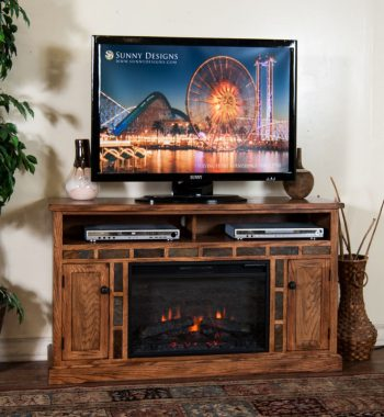 Sedona 54 Inch Fireplace TV Console