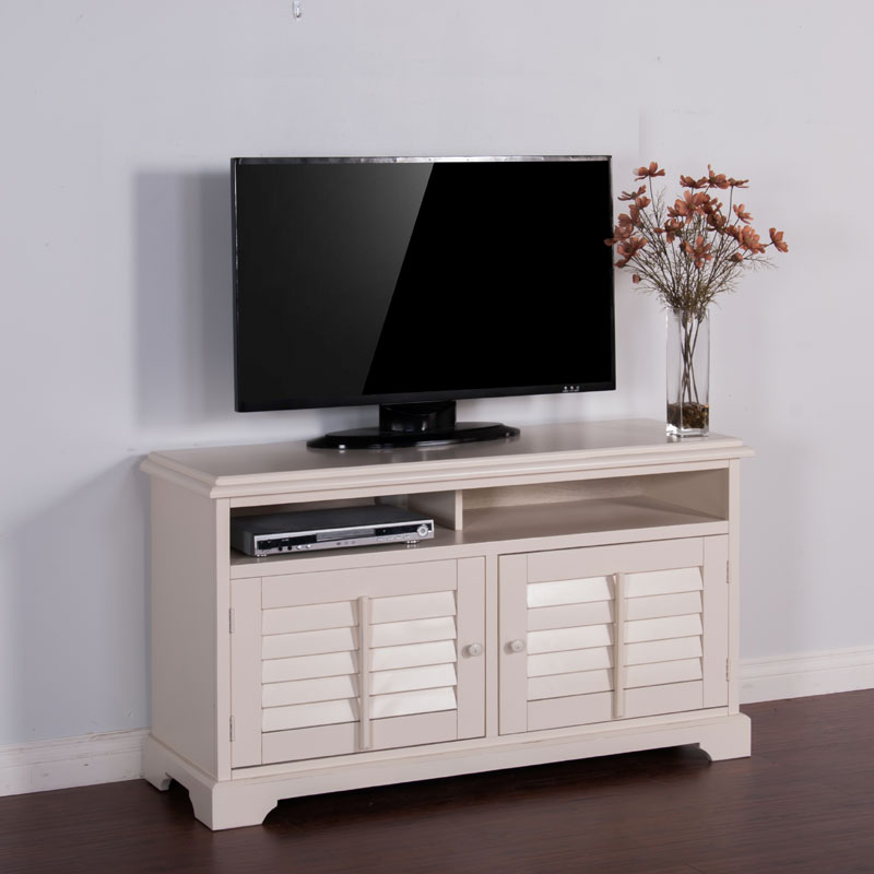 Vintage White 54 Inch Tv Console By Sunny Designs Barr S