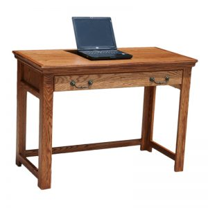 "Traditional oak 42"" Laptop Desk"