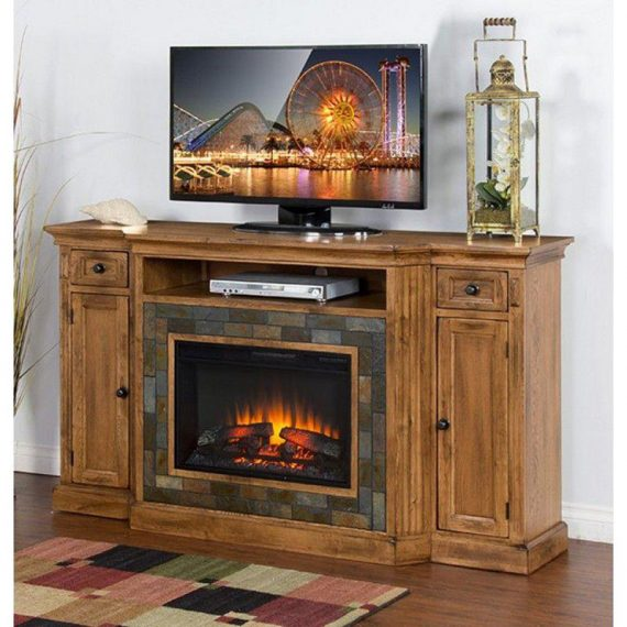 Sedona Fireplace TV Console