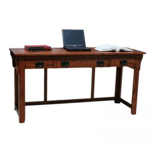 "Mission Oak 52"" Laptop Desk"