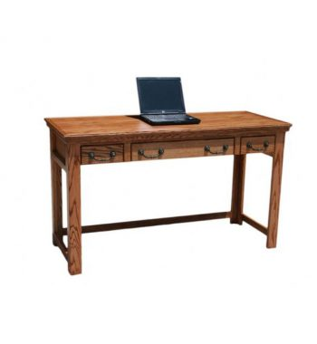 "Traditional Oak 52"" Laptop Desk"