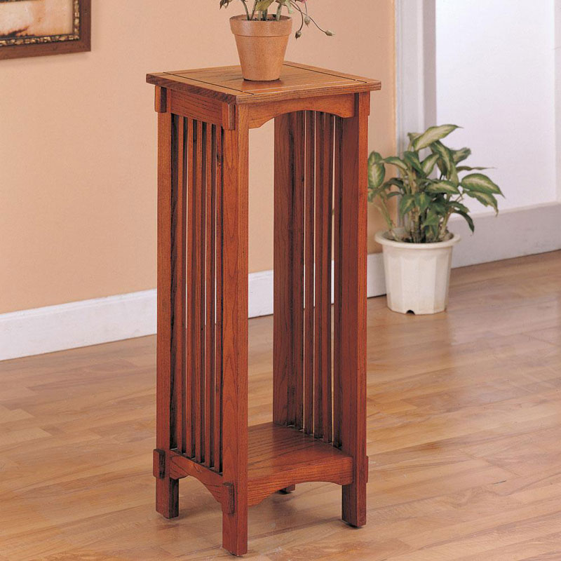 Mission Style Accent Table Barr S Furniture The Best