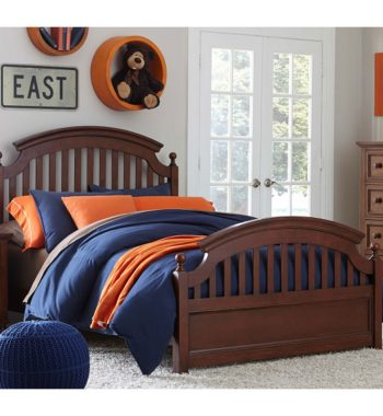 Academy Twin Bedroom Set - Cinnamon