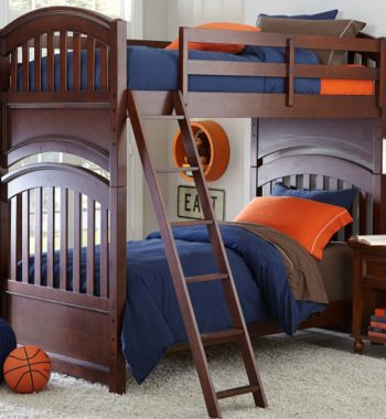 Academy Full Over Full Bunk Bed - Cinnamon