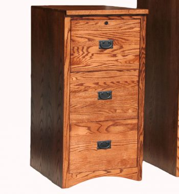 Mission 3 Drawer File Cabinet