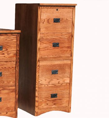 Mission 4 Drawer File Cabinet