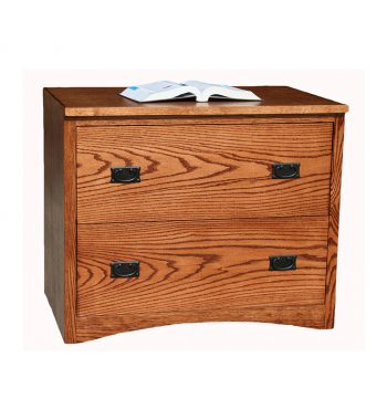 Mission 2 Drawer Lateral File cabinet