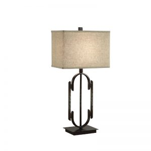Dark Bronze Table Lamp