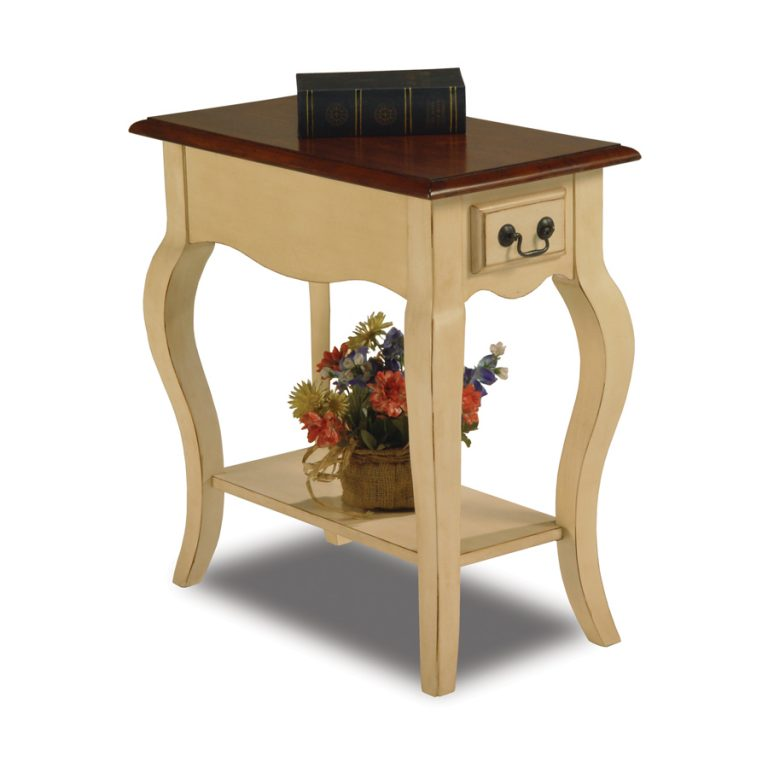 French Side Table Ivory