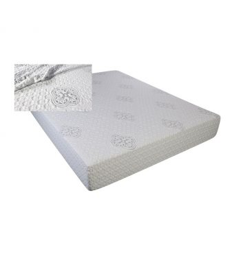 "East King 10"" Visco Gel Memory Foam Mattress"
